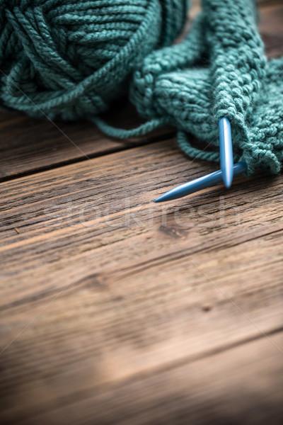 Knitting needles Stock photo © grafvision