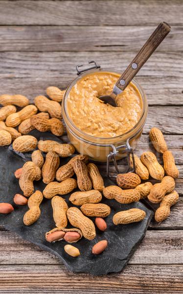 Peanut butter Stock photo © grafvision