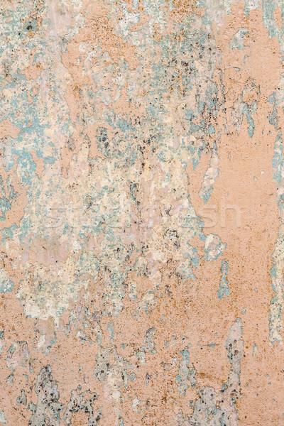 Haveloos verf kleur muur gips textuur Stockfoto © grafvision