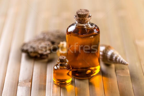 органический стекла бутылку природы тело Сток-фото © grafvision