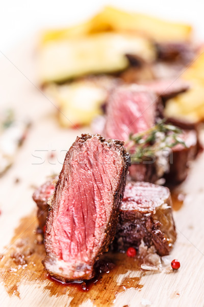 Beef steak ribeye  Stock photo © grafvision