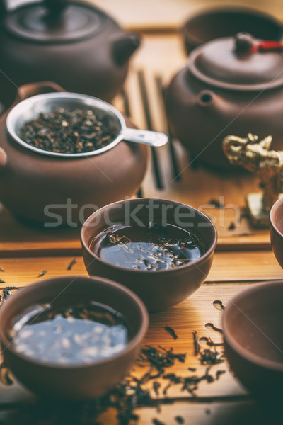 Chinese tea ceremony. Stock photo © grafvision