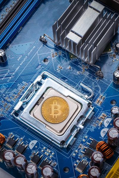 Bitcoin concept Stock photo © grafvision