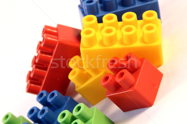 block toys Stock photo © grafvision