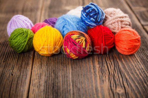Knitting yarn Stock photo © grafvision