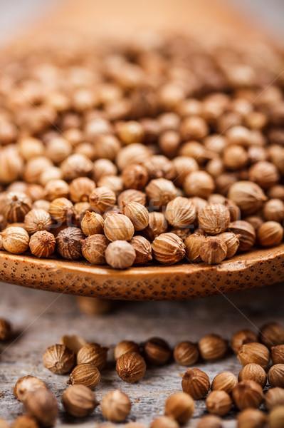 コリアンダー 種子 クローズアップ 画像 スタジオ ストックフォト © grafvision