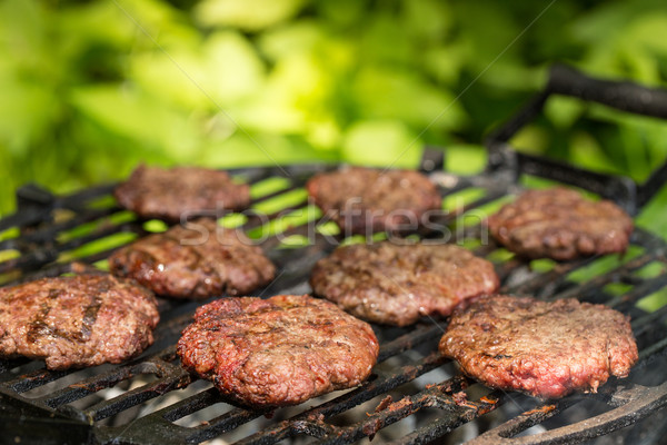 Burger patties  Stock photo © grafvision