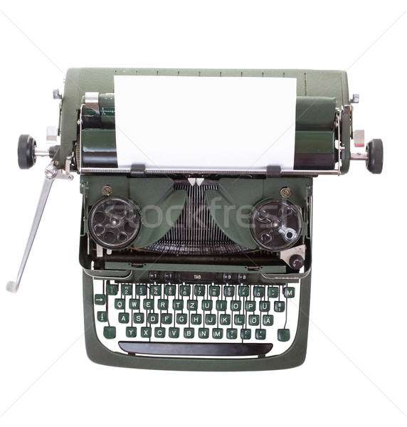 Old vintage typewriter Stock photo © grafvision