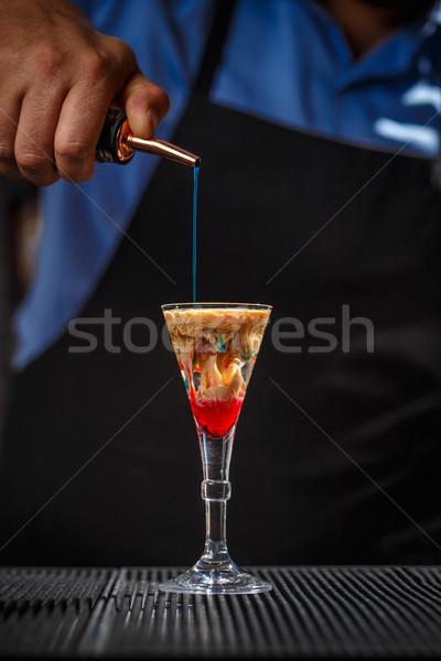 Alien brain hemorrhage cocktail Stock photo © grafvision