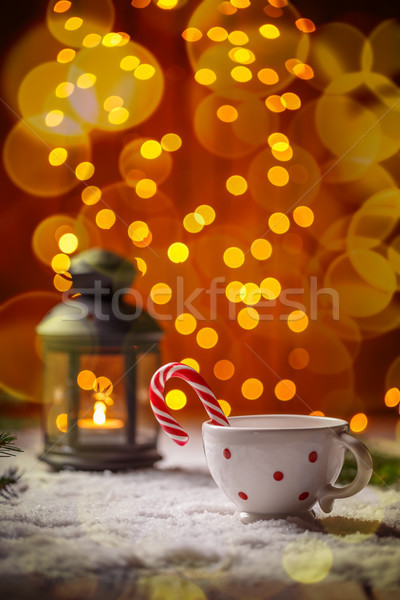 Navidad dulces vacaciones ornamento invierno Foto stock © grafvision