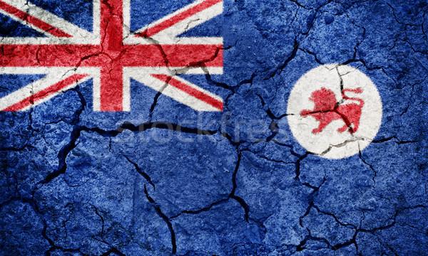 Tazmanya bayrak kuru toprak zemin doku Stok fotoğraf © grafvision