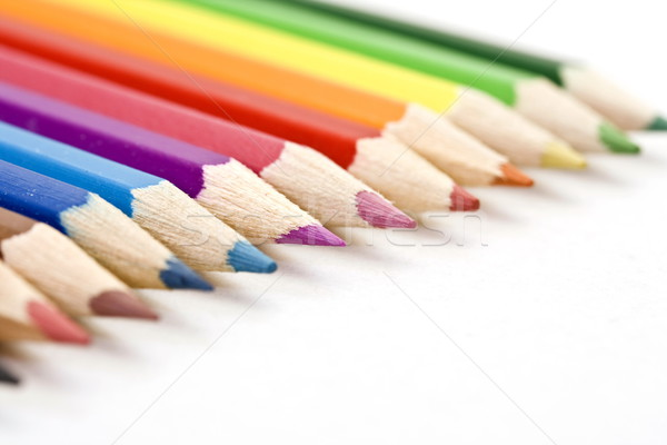 Color Pencils Stock photo © grafvision
