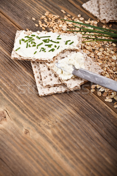 Swedish crispbread Stock photo © grafvision