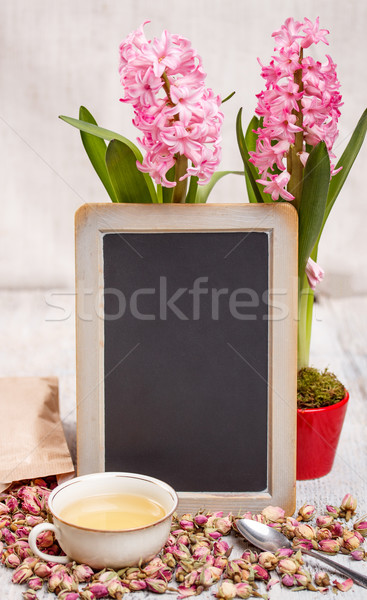 Blackboard with space for text Stock photo © grafvision