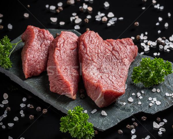 Crude beef Stock photo © grafvision