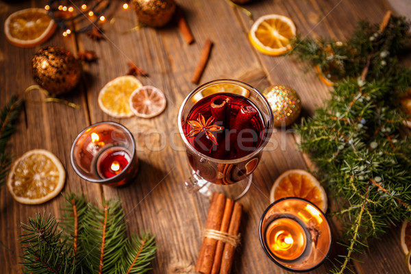 Hot mulled wine  Stock photo © grafvision