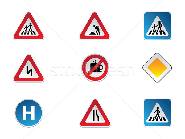 Road Signs Stock photo © graphit