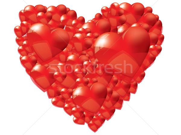 Valentine background Stock photo © graphit