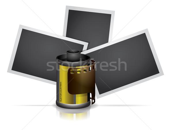 Cámara rodar película fotos fondo teatro Foto stock © graphit