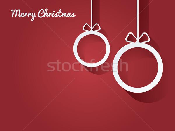 Foto stock: Natal · cartão · postal · abstrato · fundo · quadro