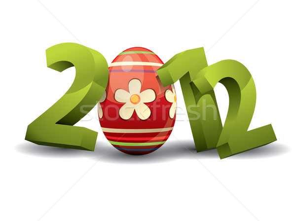 2012 easter Stock photo © graphit