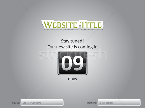 Website under construction Stock photo © graphit