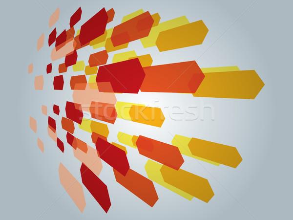抽象的な 色 壁紙 デジタル プレゼンテーション 現代 ストックフォト © graphit
