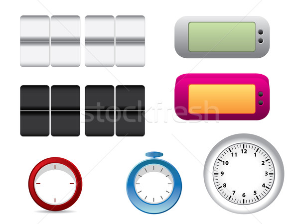 Office clock faces Stock photo © graphit