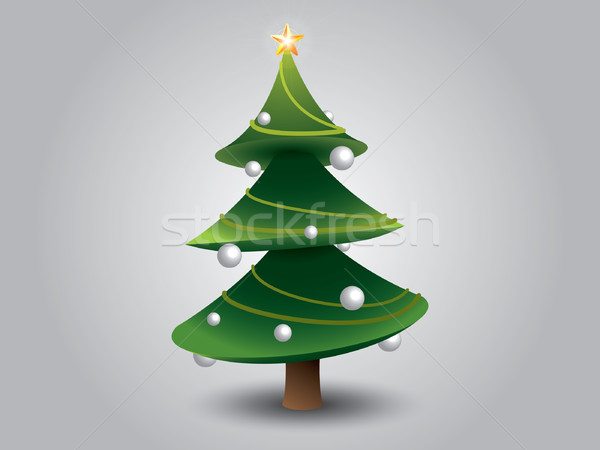Christmas Tree Stock photo © graphit