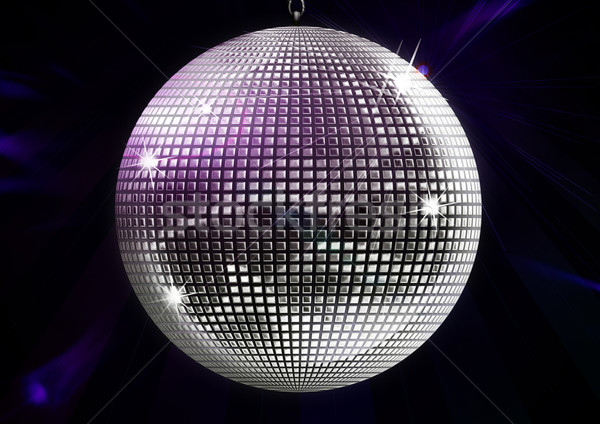 Diszkógömb illusztráció tánc éjszaka klub labda Stock fotó © grasycho