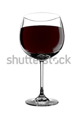 стекла белый вино пить Сток-фото © gravityimaging