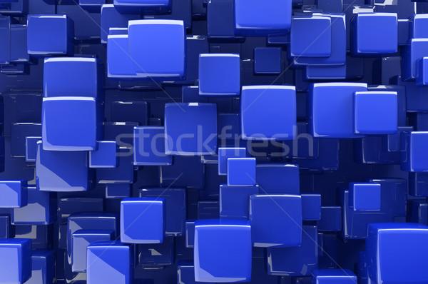аннотация синий архитектурный дизайна окна Сток-фото © gravityimaging