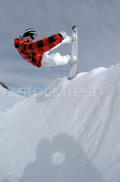 прыжки фристайл Extreme сноуборд спорт Сток-фото © gravityimaging