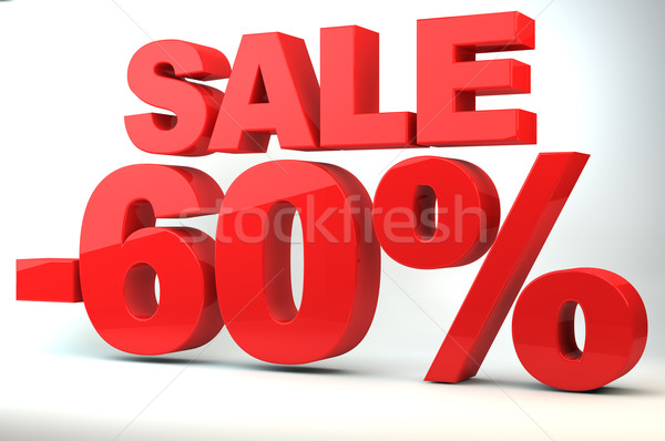 Sale - price reduction of 60% Stock photo © gravityimaging