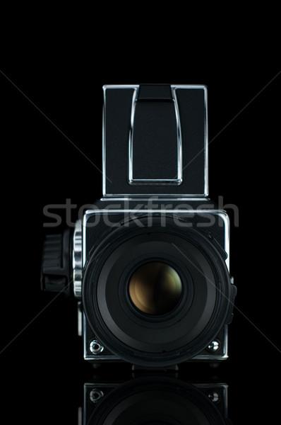 Vintage фото камеры формат фильма черный Сток-фото © gravityimaging