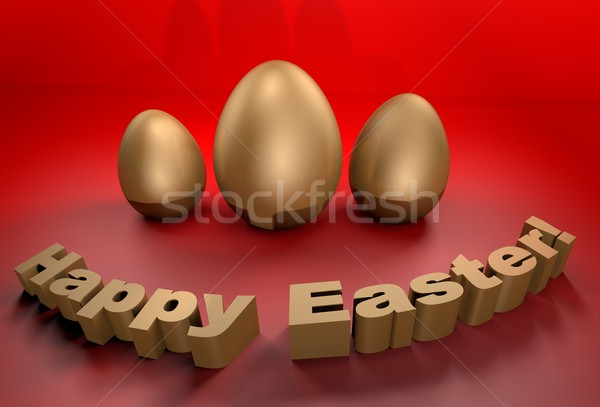 Happy Easter holidays Stock photo © gravityimaging