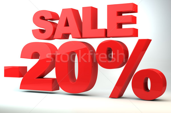 Sale - price reduction of 20% Stock photo © gravityimaging