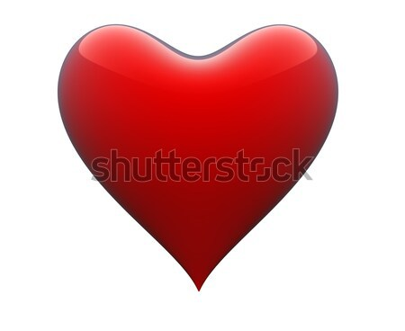 формы сердца белый графических иллюстрация символ Сток-фото © gravityimaging