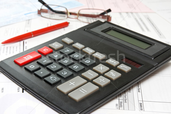 financial analysis concept Stock photo © Grazvydas