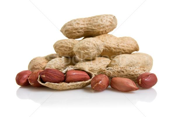 pile of peanuts Stock photo © Grazvydas