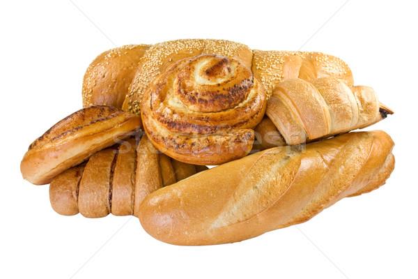 Bakery foodstuffs set Stock photo © Grazvydas