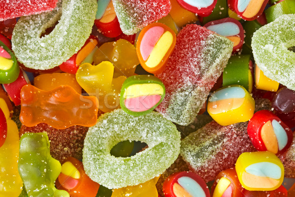 assortment of colorful jelly sweets Stock photo © Grazvydas