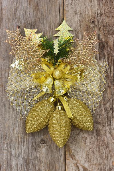 Natale decorazione muro legno regalo Foto d'archivio © Grazvydas