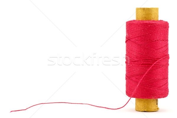 red thread spool Stock photo © Grazvydas