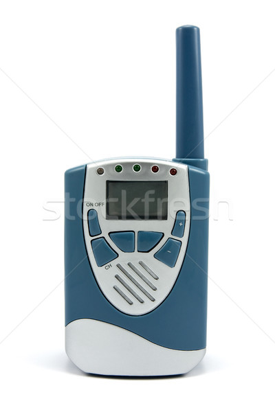 Portable walkie talkie radio Stock photo © Grazvydas