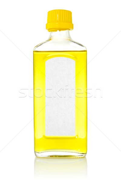 Bottle with fish oil  Stock photo © Grazvydas