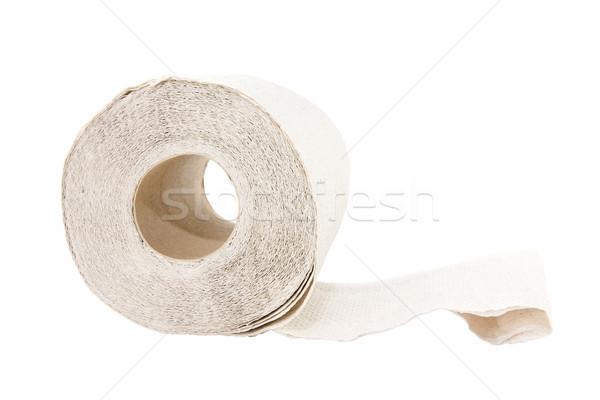 Rotolare carta igienica isolato bianco salute clean Foto d'archivio © Grazvydas