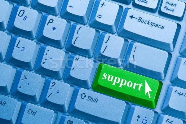 Wsparcia wsparcie słowo kluczowych Zdjęcia stock © Grazvydas