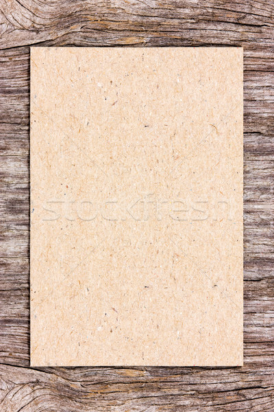 Recycling Papier Holz kann benutzt Rahmen Stock foto © Grazvydas