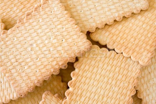 Croccante gustoso cookie rosolare Foto d'archivio © Grazvydas